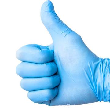 Одноразовые защитные перчатки для взрослых без порошка нитриловых перчаток