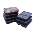 Compartment take away disposable bento plastic lunch box