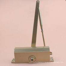 CE Standard moyen heavy duty aluminium ocultoa porte plus proche charnière sol charnière porte plus près pour 45 ~ 65 KG porte en bois