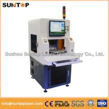 Duas estações de trabalho Máquina de marcação a laser com proteção de laser fechada