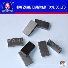 Fabrik Preis, rechtzeitige Lieferung und gute Verkauf Service Diamant Segmente für Schneiden Marmor