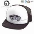 Casquettes classiques de hip-hop de baseball de mousse de Snapback avec le dos brodé de maille de logo