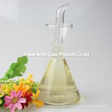Food Grade Günstige Mason Jar Glas Cruet Flasche für Olivenöl, Essig, Sojasauce, Getränke