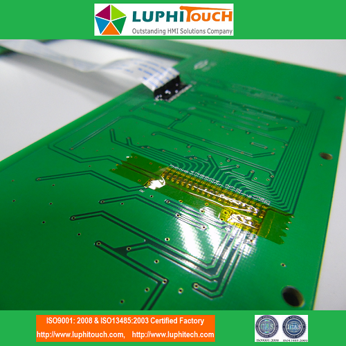 Silicone Rubber Keyboard PCB Circuit FFC Cable Keypad