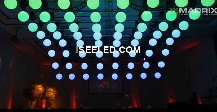 RGB LED Ball DMX512 Programmable