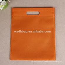 El bolso cortado con tintas no tejido venta al por mayor más caliente 2017 de la venta con ninguna impresión en existencia
