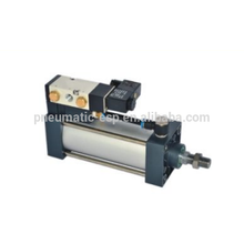 SCF series double-tach acting standard pneumatic cylinder with valve