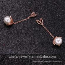 Großverkauf der Fabrik Qualitätsart und weise Schmuck neuesten Ohrring für Frauen