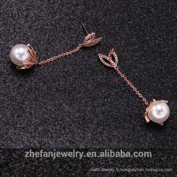 Usine vente directe Qualité mode Bijoux dernière boucle d'oreille pour les femmes