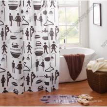 Love Shower Curtain PVC \ PEVA \ EVA