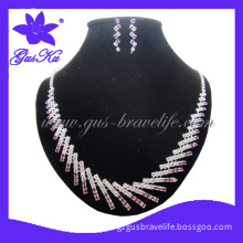 2013 Gusku Gus-Wn-001 Fashion and Classic Wedding Jewelry Sets in Copper Material with Imitation Crystal Decorations for Bride