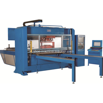 Otomatis Single Head Double Die Cutting Machine