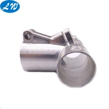 CNC Penggilingan Stainless Steel Pipe Fitting