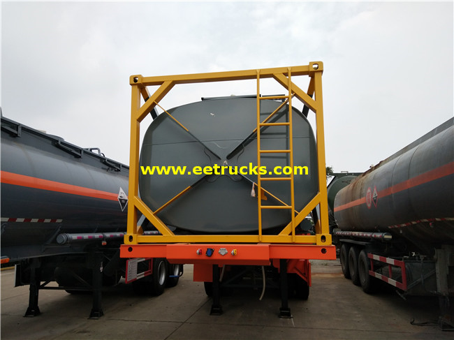 20ft Sulfuric Acid Tank Containers