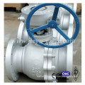 Cast Stainless Steel Industrial Ball Valve with Flange Ends