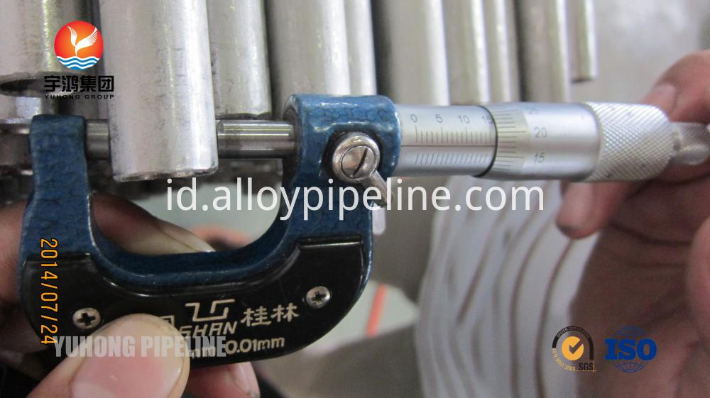 U Bend Tube ASME SA213 TP304 TP304H For Heat Exchanger