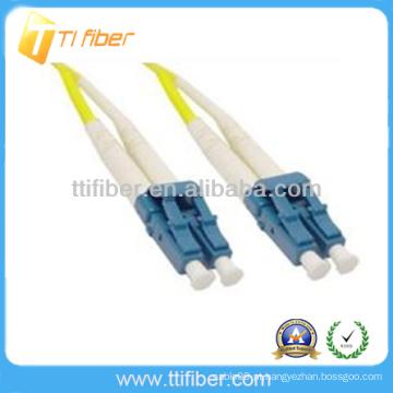 LC / UPC-LC / UPC Duplex Fibra óptica patch cord