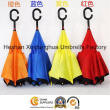 Farbenfrohe Portable Freisprecheinrichtung gerade umkehren invertiert Regenschirm für Auto (SU-0023I)