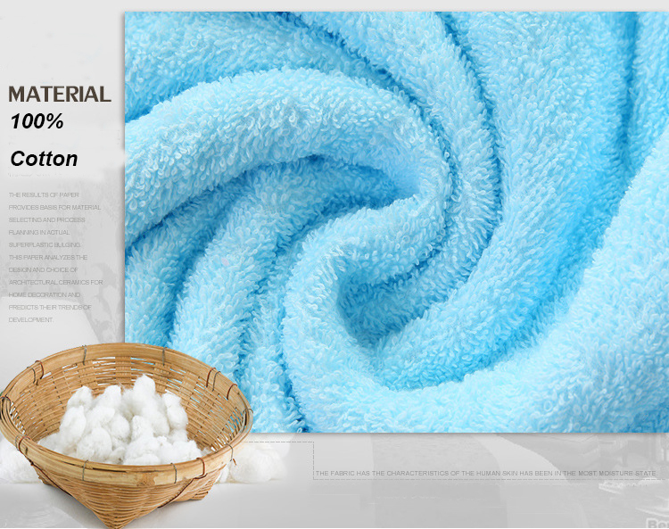 Cotton Towel Bathrobe