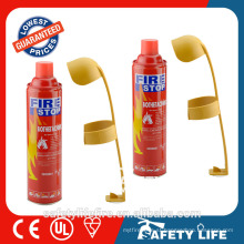 500ml foam fire stop fire extinguisher / disposable fire extinguisher