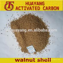 Granulés / abrasifs de coquille de noix de poudre pour le polissage