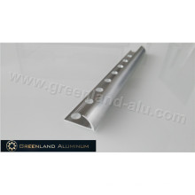 10mm Silver Bright Aluminum Radius Floor Trim
