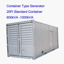750kVA-1500kVA Тихий дизельный генератор типа контейнера