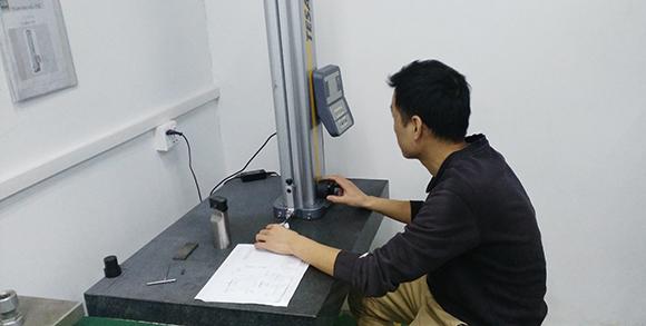 Testing of CNC Machining Parts