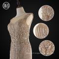 Robes de mariée sirène brodé de perles de designer
