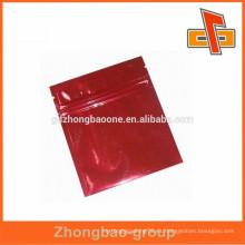 Bolsa de plástico color impreso por el fabricante hoja de aluminio laminada ziplock facial mask bag