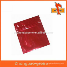 plastic bag supplier color printed laminated aluminum foil ziplock facial mask bag