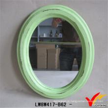 China Home Decoração Espelho Oval Atacado