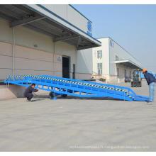 rampe de conteneur pour chariot élévateur / rampe de chargement pour conteneur Taille de rampe: 10.5x2m