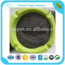 oxyde d'alumine fondu brun pour l'outil abrasif de sablage et le papier abrasif