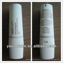 Yason tubo de plástico oval para BB creme ou para cosméticos