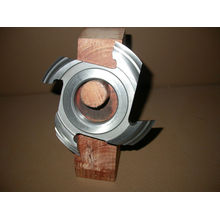 Welded Tct Solid Steel Wood Shaper Cutters For Making Doors And Cabinets