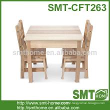 Moderna sala de estar popular mesa de jantar e cadeira