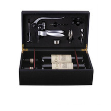 Deluxe Stainless Steel Corkscrew Bar Set