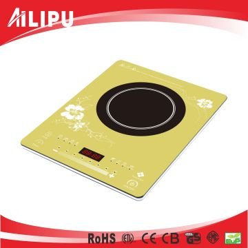 2016 Modern Colorful Plate Ultra Thin Induction Cooktop