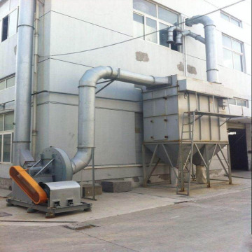 Industrial workshop dust processor