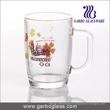 Decal Glass Mug/Cup, Printed Glass Mug/Cup, Imprint Glass Mug (GB094209-1-HCS-133)