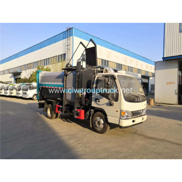 7-8CBM Side loading compressed garbage truck