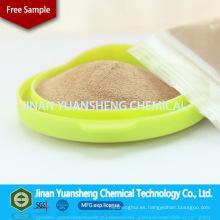Superfluidificante de naftaleno sódico de colorante textil Dispense