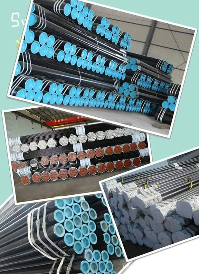 ASTM A53 Large Diameter Thick Wall Round galvanized seamless steel pipe