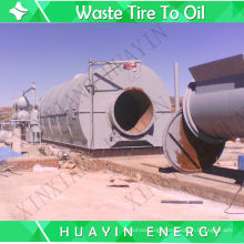 10T Small Big Tyre Pyrolysis To Produce Diesel Since 1993 Doing This Business