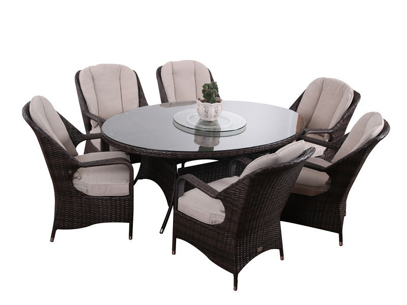 7pc patio garden ratten furniture S2801