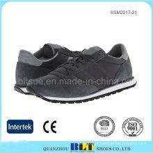 Confortável forro de encerramento tradicional Lace-up para homens sapato