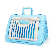 FOUR COLOR Durable Portable Airline Approved Outdoor Travel Luxury Plastic Pet Box House Cat Dog Cages Carriers