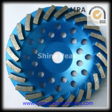 Copa de diamantes de alto rendimiento para el segmento de espiral de piso de concreto