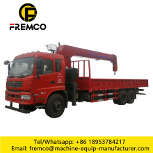 Telescopic Boom 12 Ton Truck Mounted Crane